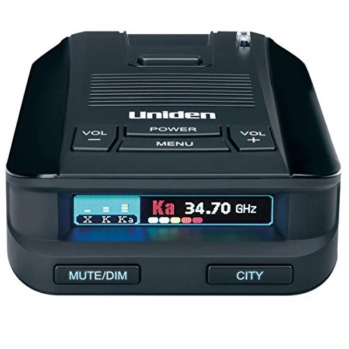 Uniden DFR8 Super Long Range Laser and Radar Detection, Advanced K/KA Band Filter, Voice Notifications, Ultra-bright Multi-Colored OLED Display