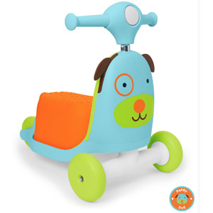 Skip Hop Zoo 3-In-1 Ride On Toy