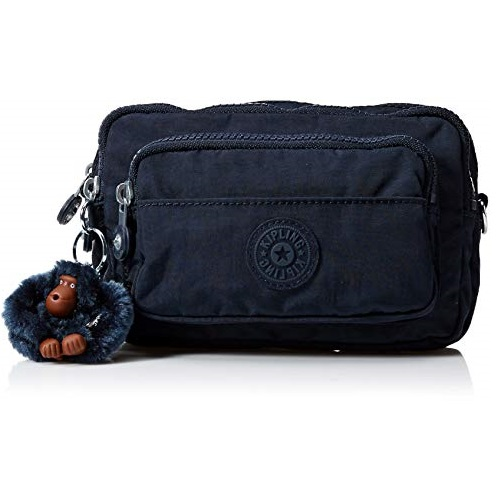Kipling Women's Merryl 2-in-1 Convertible Waistpack Cross Body, True Blue Tonal, One Size