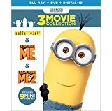Despicable Me 3-Movie Collection (Despicable Me / Despicable Me 2 / Minions) (Blu-ray + DVD + Digital HD) $9.99 FREE Shipping on orders over $25