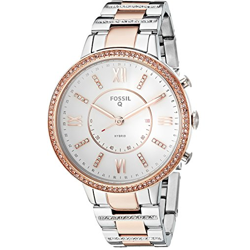 Fossil Women's Virginia Stainless Steel Hybrid Smartwatch $65.62