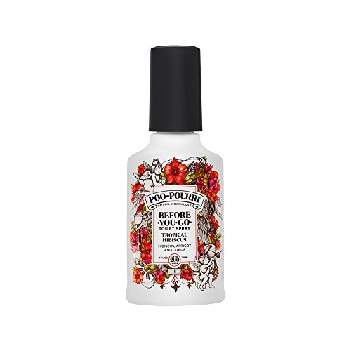 Poo-Pourri Before-You-Go Toilet Spray, Tropical Hibiscus Scent, 4 oz