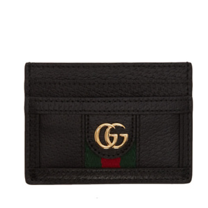 Gucci  Black Ophidia Card Holder