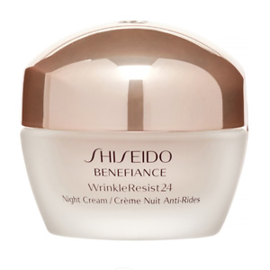 Shiseido ($63 Value) Shiseido Benefiance Wrinkle Resist 24 Night Cream, 1.7 Oz