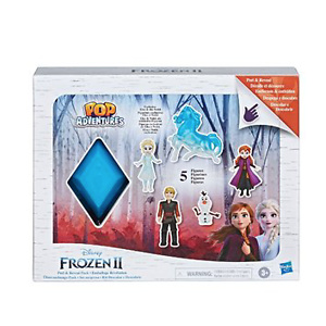 Frozen 2 Peel and Reveal Playset, Anna, Elsa, Olaf, Kristoff, the Nokk