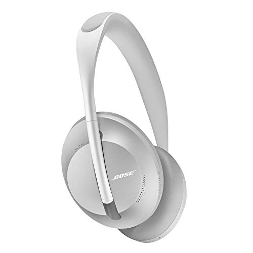Bose Noise Cancelling Wireless Bluetooth Headphones 700, with Alexa Voice Control, Silver