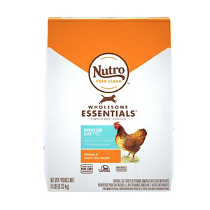 Nutro Wholesome Essentials Indoor Chicken & Brown Rice Recipe Adult Dry Cat Food