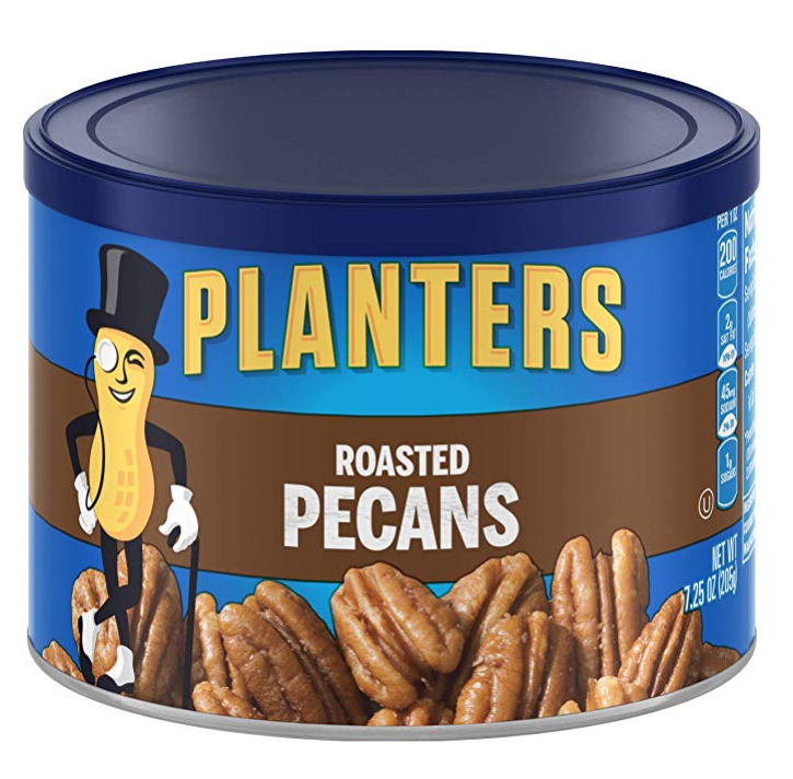 Planters Roasted Pecans (7.25oz Canister)