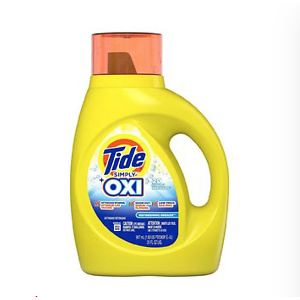 Tide Simply +Oxi Liquid Laundry Detergent, Refreshing Breeze31.0oz