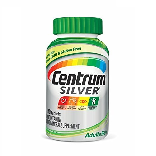 Centrum Silver Multivitamin Supplement, Adult, 150 Count