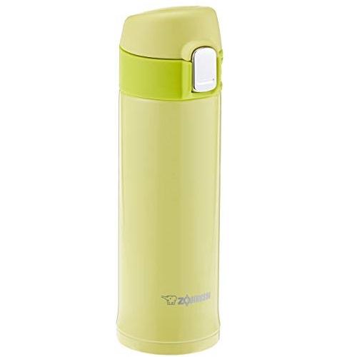 Zojirushi SM-PB30YP Stainless Vacuum Mug, 10 oz/0.30 L, Lime Yellow