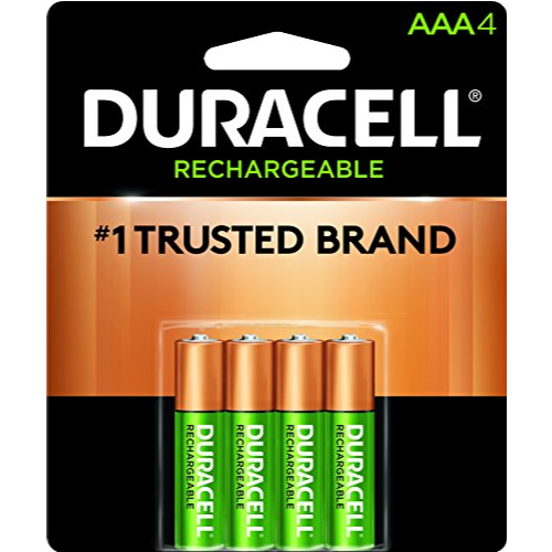 Duracell 金霸王 可充电AAA电池 $4.63 免运费