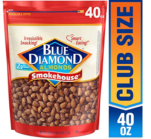 Blue Diamond Almonds, Smokehouse, 40 Ounce (Pack of 1) $8.30