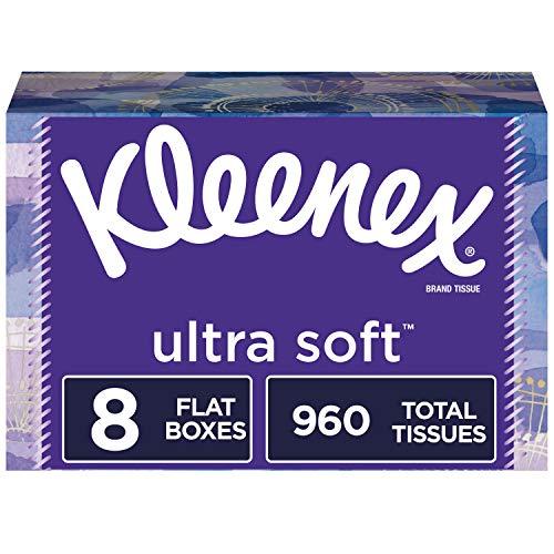 Kleenex 盒装面巾纸,120抽/盒,共8盒
