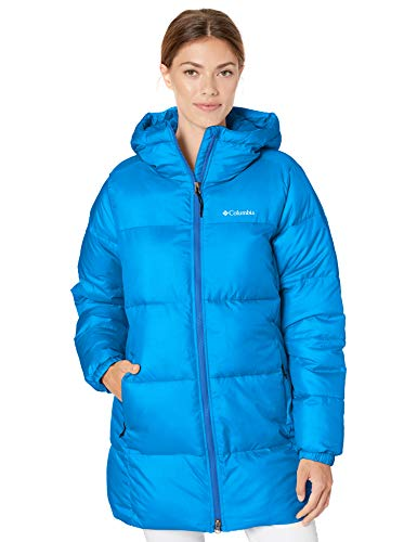 Columbia Women's Puffect Mid Hooded Winter Jacket, Water repellent