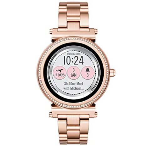 Michael Kors Access Gen 3 Sofie Touchscreen Smartwatch Powered with Wear OS by Google $149.99, free shipping