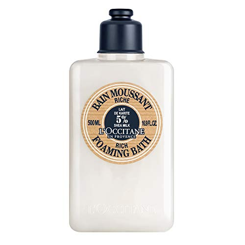 L'Occitane Shea Butter Rich Foaming Bath, 16.9 Fl Oz