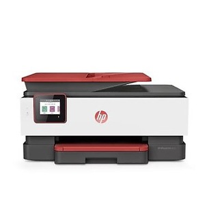 HP OfficeJet Pro 8035 Wireless Color Inkjet All-In-One Printer w/ Smart Tasks and 8 Months of Ink, Coral (4KJ65A)