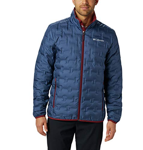 Columbia Men's Delta Ridge Down Winter Jacket, Insulated, Water repellent
