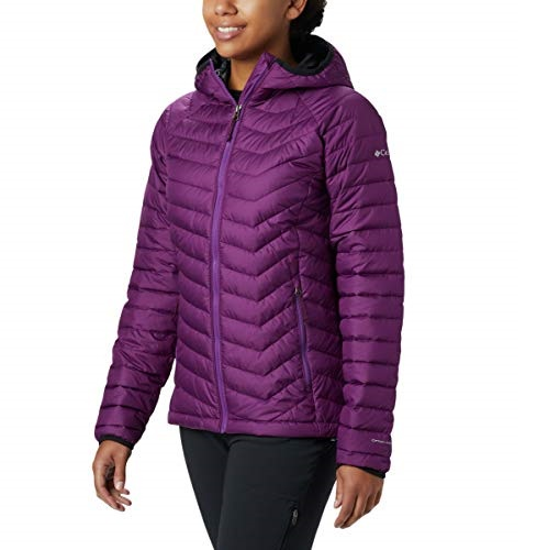 Columbia Women's Powder Lite Hooded Winter Jacket, Water repellent
