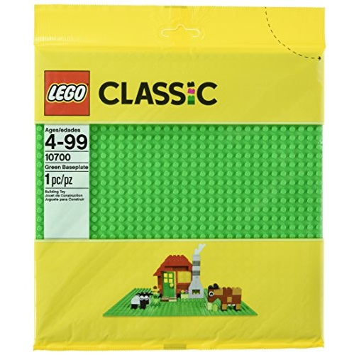 LEGO Classic Green Baseplate Supplement, 10700