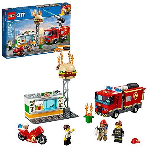 史低价!LEGO 乐高City 城市系列60214 汉堡店消防救援