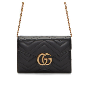 Gucci  Black Marmont Chain Bag