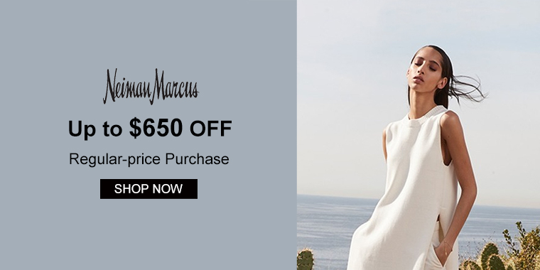 Neiman Marcus: Up to $650 OFF Regular-price Purchase