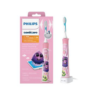 Philips Sonicare For Kids Pink Electric Rechargeable Toothbrush, HX6351/41