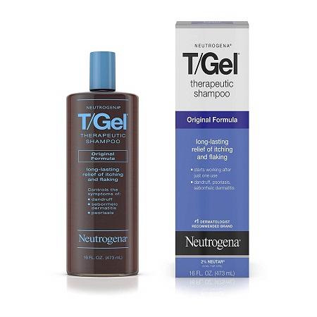 头皮屑克星!Neutrogena 露得清T/Gel 治疗型洗发香波,16 oz