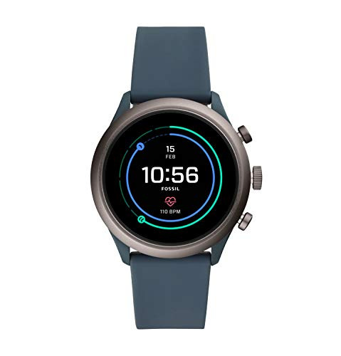 Fossil Men's Sport Metal and Silicone Touchscreen Smartwatch with Heart Rate, GPS, NFC, and Smartphone Notifications $74.25
