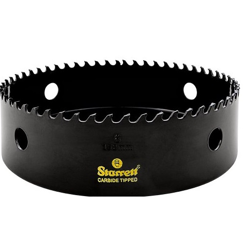 Starrett Carbide Tipped HOLESAW 6""
