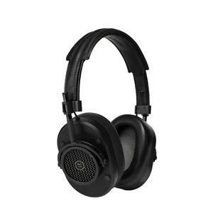 Master & Dynamic Award Winning MH40 Over-Ear, Closed Back Headphones with Superior Sound Quality and Highest Level of Design- Black/Black