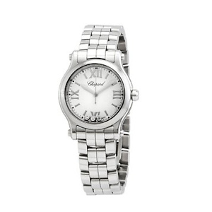 Chopard Happy Sport Quartz White Dial Unisex Watch 278590-3002 Chopard Happy Sport Quartz White Dial Unisex Watch 278590-3002 Chopard Happy Sport Quartz White Dial Unisex Watch 278590-3002 CHOPARD Happy Sport Quartz White Dial Unisex Watch