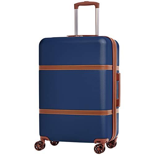 史低价!AmazonBasics 硬壳万向轮行李箱24寸 $30.24 免运费