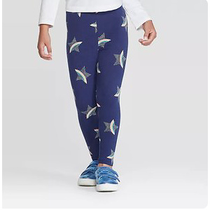 Toddler Girls' Rainbow Star Leggings - Cat & Jack™ Blue