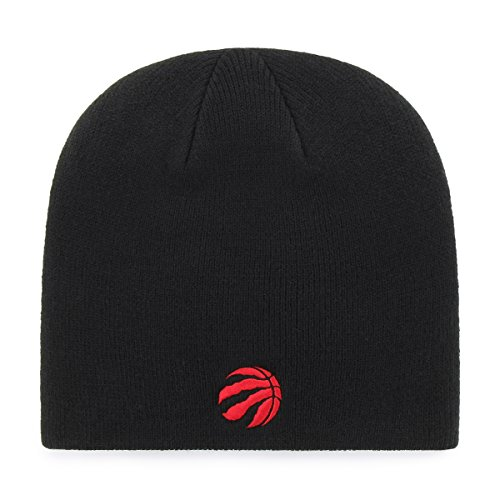 OTS NBA Toronto Raptors Men's Beanie Knit Cap, Team Color, One Size