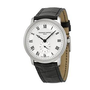Slimline Silver Dial Unisex Watch