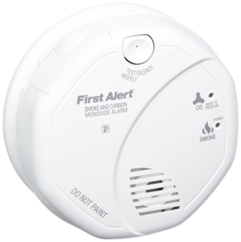First Alert SCO5CN Combination Smoke and Carbon Monoxide Alarm, Battery Operated