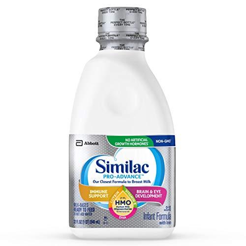 Similac Pro-Advance 非转基因婴儿液体奶,适合0-12月宝宝,32 oz/瓶,共6瓶