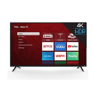 "TCL 50"" Class 4K UHD LED Roku Smart TV 4 Series 50S425"