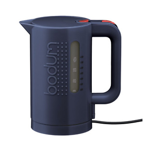 Bodum Bistro Electric Kettle, 34 Oz, 1 L, Sargasso Sea