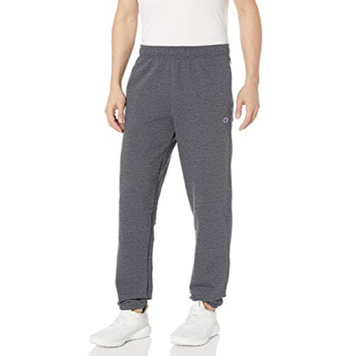 Champion Men's Powerblend Relaxed Bottom Fleece Pant $9.00
