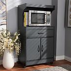 Baxton Studio Tannis Kitchen Cabinet