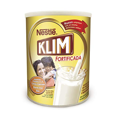 Nestle KLIM Fortificada Dry Whole Milk Powder 56.3 oz. Canister $18.98