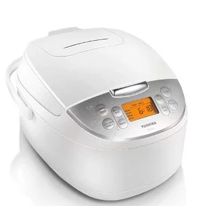 Toshiba TRCS01 Rice Cooker, 1 L, White $120.00