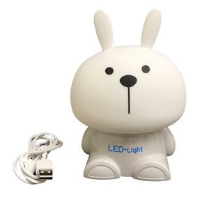Soft LED Squeezable Night Light - Greg, Color Changing by Touching the Soft Head