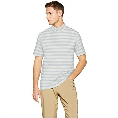 Under Armour Men's Charged Cotton Scramble Stripe Golf Polo