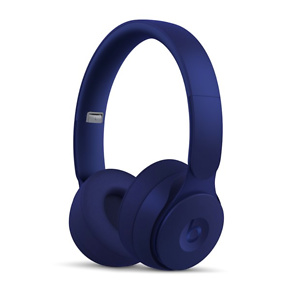 Beats Solo Pro Wireless Noise Cancelling On-Ear Headphones - More Matte Collection - Dark Blue
