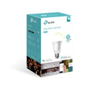TP-Link KB100 A19 Smart Light Bulb, 50W Dimmable White LED, 1-Pack